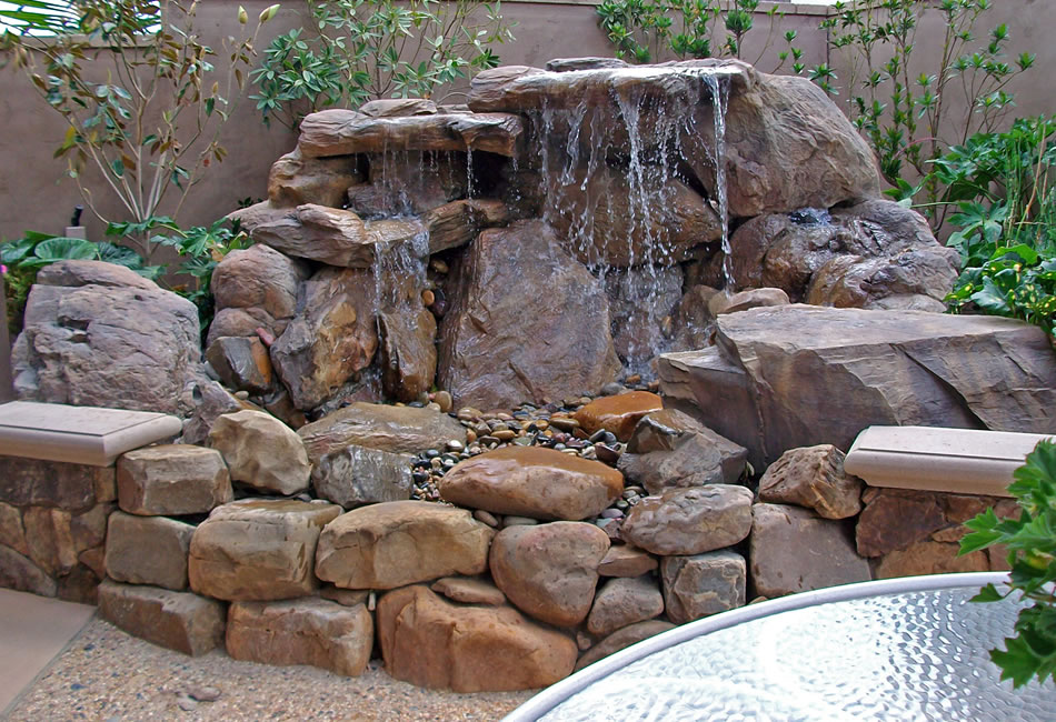 Rockwater designs sierra grotto for Garden grotto designs